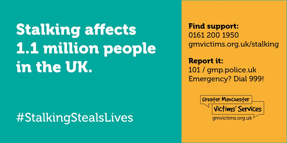 Stalking affects 1.1 million people in the UK
