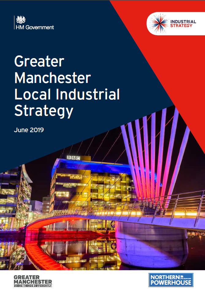 Greater Manchester local industrial strategy - front cover