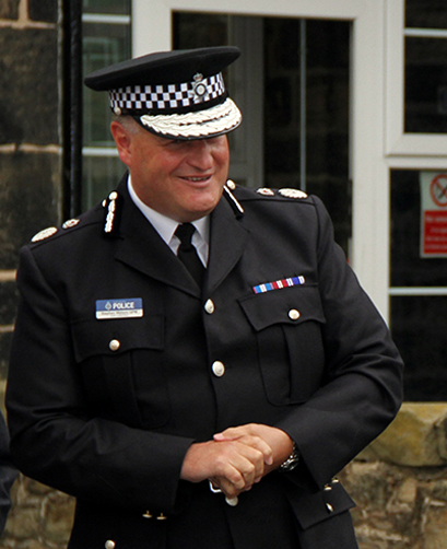 Image of Chief Constable Stephen Watson